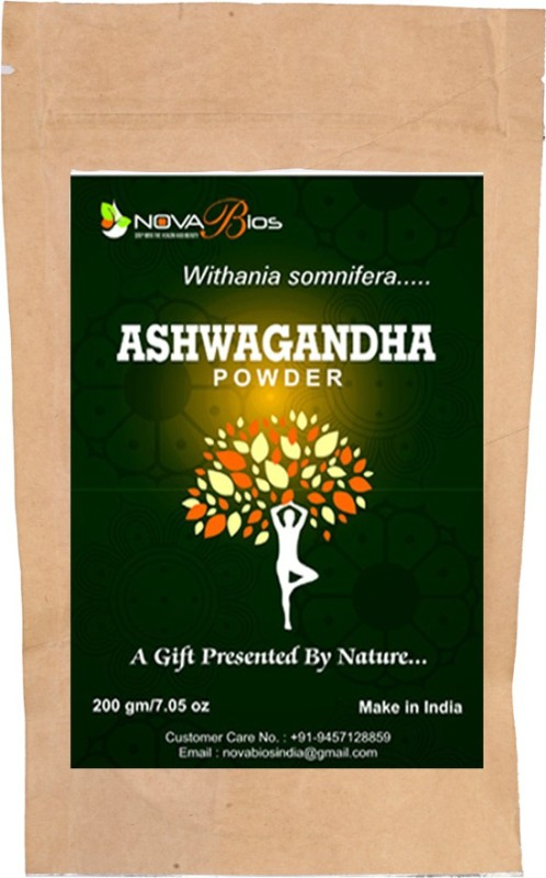 Nova Bios Aswagandha Powder(Light Tan)