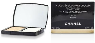 Chanel Vitalumiere Compact Douceur Lightweight Compact Makeup SPF 10(Multicolor)