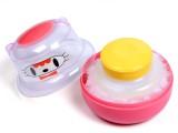 Baby Bucket PVC Imported Powder Puff (Pi...