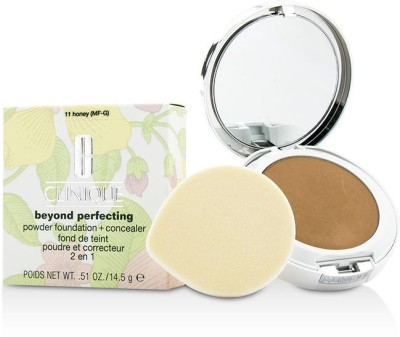 Clinique Beyond Perfecting Powder Foundation + Corrector(Brown)