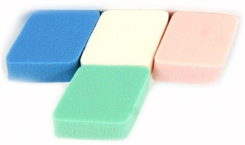 One Personal Care Professional Cosmetic Compact Applicators(Multicolor)
