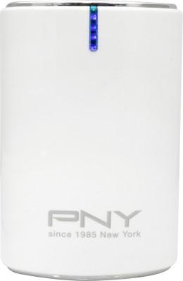 PNY PPB AK-6K 6000 mAh Power Bank(White)