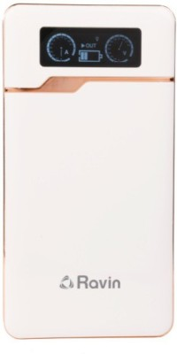 Ravin EP-09001 Power Bank With Speedometer Digital Display & Dual Usb Port 9000 mAh