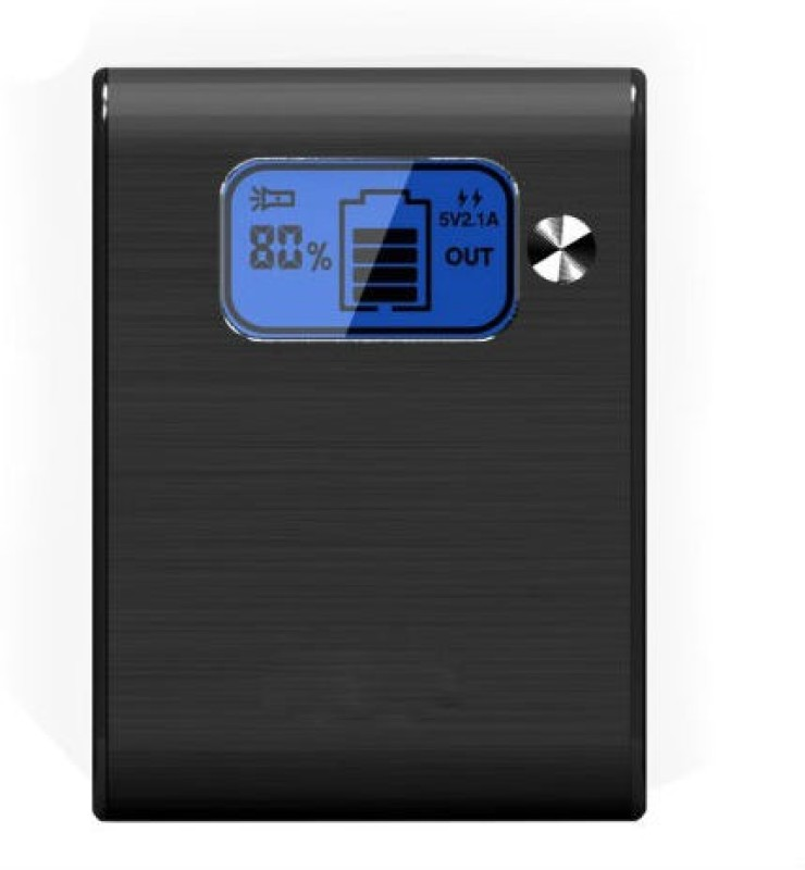 Shrih SHR-9232 Portable  8400 mAh Power Bank(Black, Lithium-ion)