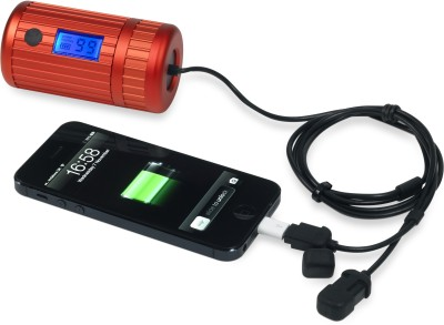 Power Traveller PMEXP2-009 Power Monkey Explorer 2 6000 mAh Power Bank(Red)