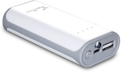 FoxProx FX-52H F002 5200 mAh Power Bank(White)