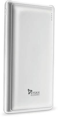 Syska Power Pro 200- 20000 mAh Power Bank(White, Lithium Polymer)