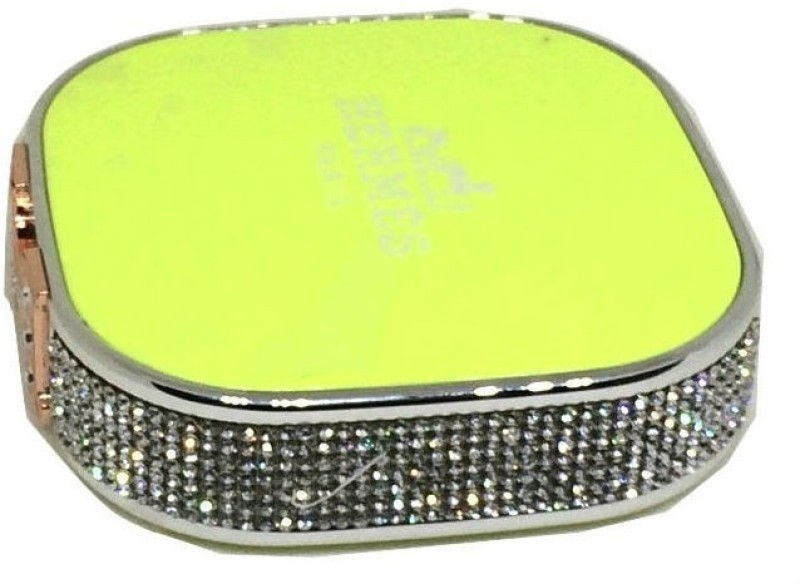 Shrih SHR-9204 Portable Crystal  12000 mAh Power Bank(Green, Lithium Polymer)