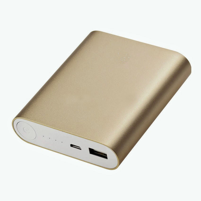 Kumar Retail Mi Portable For Smart Phone 10400 mAh Power Bank(Gold, Lithium-ion)