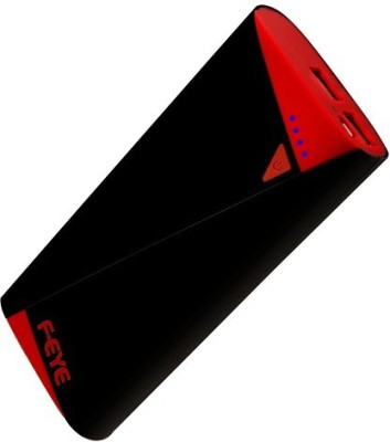 F-EYE 10400mAh Power Bank All Android & Smartphone 10400 mAh Power Bank(Black, Red)