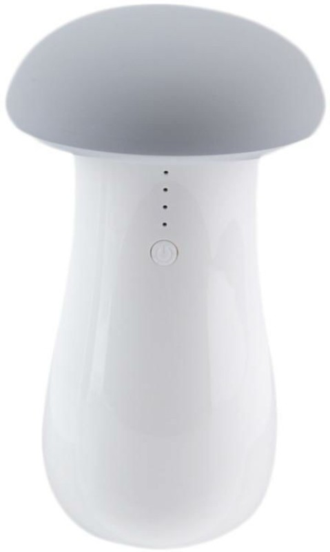 Shrih SHR- 9249 LED Wireless Mushroom Night Lamp  8000 mAh Power Bank(White, Lithium-ion)