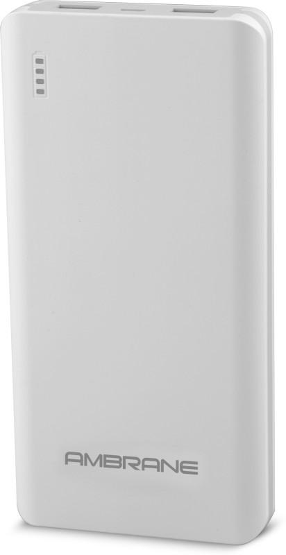 Ambrane PP-2000 NA 20000 mAh Power Bank(White, Lithium Polymer)