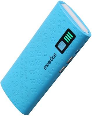 MOERDON MDPBJSN-15 11000 mAh with 2 USB Ports 11000 mAh Power Bank(Blue, Lithium-ion)