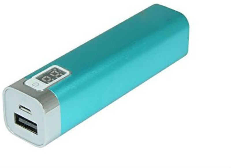 Shrih SHR-9191 Portable Digital Display  2600 mAh Power Bank(Blue, Lithium-ion)