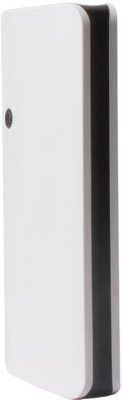 SUPER Light Weight easy To Carry Ultra Portable Battery Charger 15000 mAh Power Bank(White, Black)