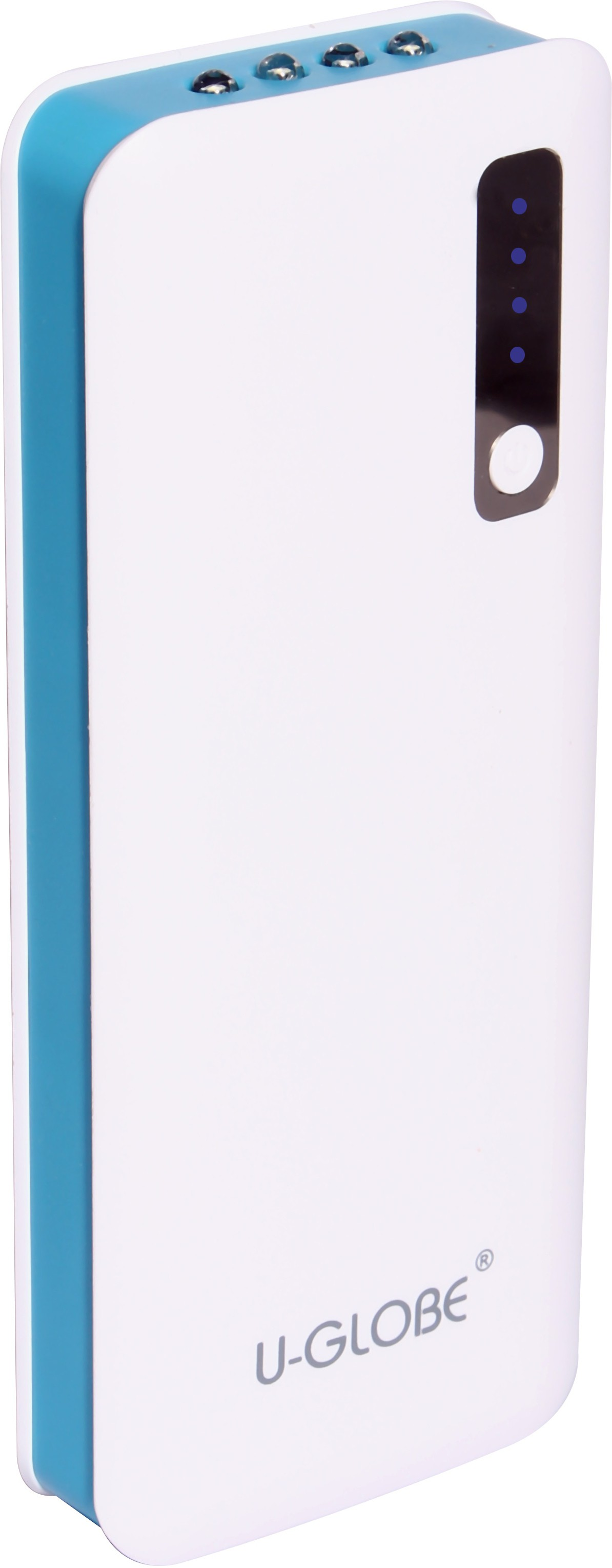 U-Globe UG-156 13000 mAh Power Bank(White, Blue, Lithium-ion)