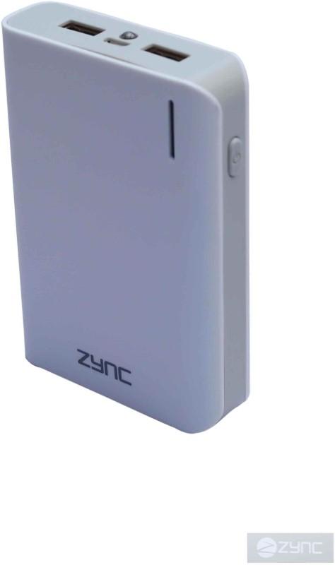 Zync PB99 Rock 10400 mAh Power Bank(White, Lithium-ion)