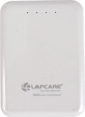 Lapcare LPB 900 Lapcare 9000mAh 9000 mAh Power Bank(White, Lithium-ion)