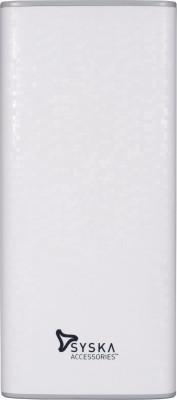 Syska Economy 100 10000 mAh Power Bank(White, Grey, Lithium-ion)