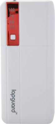 Lapguard LG515 13000 mAh Power Bank(White, Red, Lithium-ion)