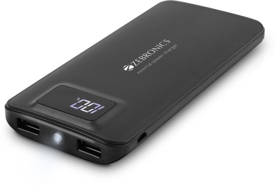 Zebronics ZEB-MC12000PD Fast Charging 12000 mAh Power Bank(Black)