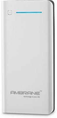 Ambrane P-2000 NA 20800 mAh Power Bank(White & Grey, Lithium-ion)