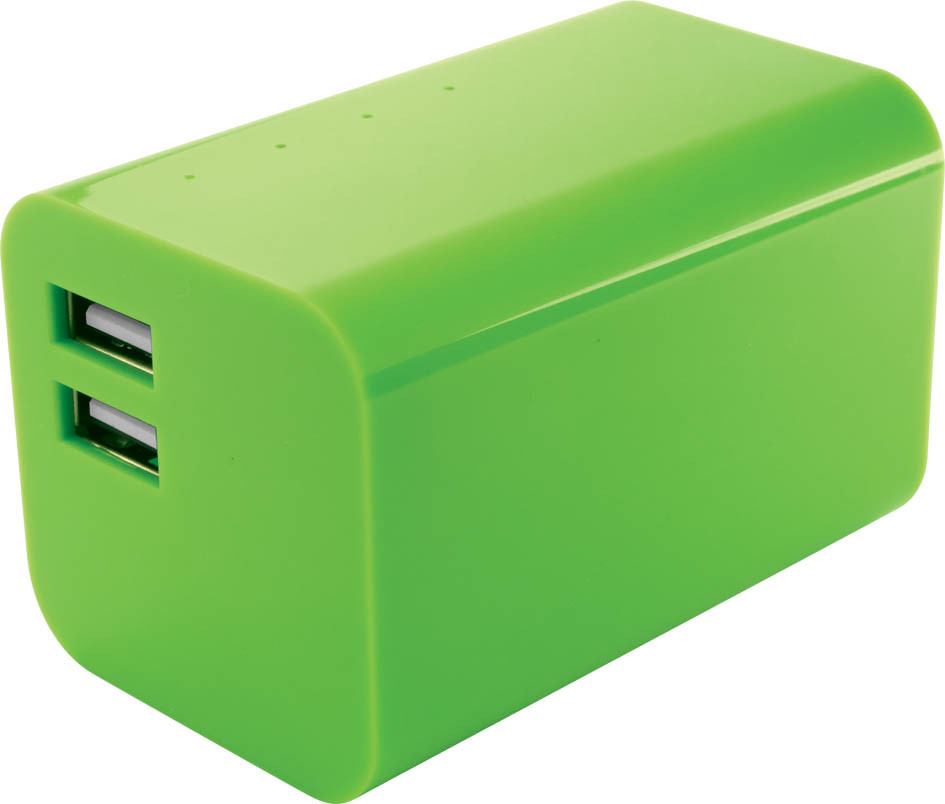 Yell BPS 66 MAH 8400 8400 mAh Power Bank(Green, Lithium-ion)