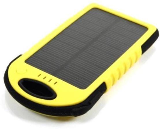 GOGLE SOURCING T.G. - 430 T.G. 026 Solar 5000 mAh Power Bank(Yellow)