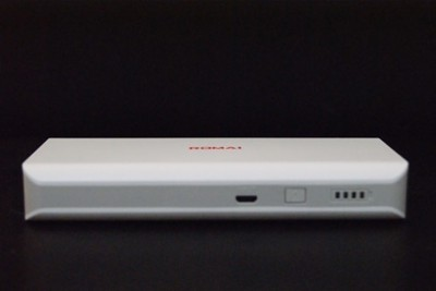 Romai T1 Power Bank-White 10000 mAh