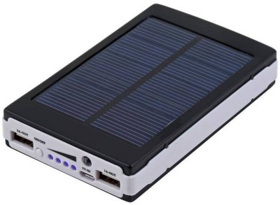 SKE SKE-21CALLONE-TURBBLUE25083176865926 Solar Power bank 13000 mAh Power Bank(Black, Lithium-ion) at flipkart