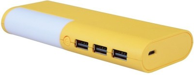 Super DIS-15 High Speed Fast Charge With Ultra look Design 15000 mAh Power Bank(Yellow)