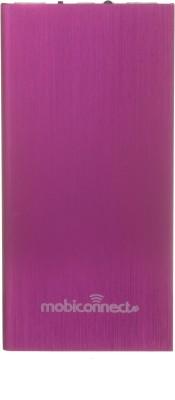 Mobiconnect MPB-8001 Portable Charger - Pink 8000 mAh Power Bank(Pink)