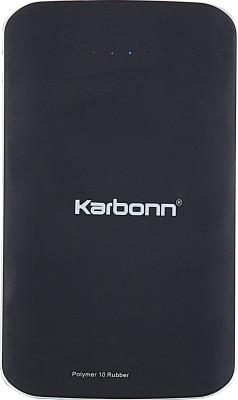 Karbonn . Polymer 10 Rubber Power Bank 10000 mAh