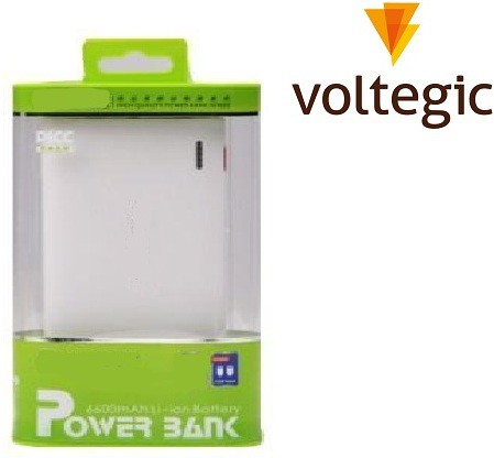 Voltegic Bilitong�� BLT-Y037 ™ Lightening Charger External Battery 11000 mAh Power Bank(White, Lithium-ion)