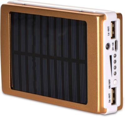 Bluebells India 20 LED CallOne Turbo Solar Power bank 13000 mAh Power Bank(Gold)