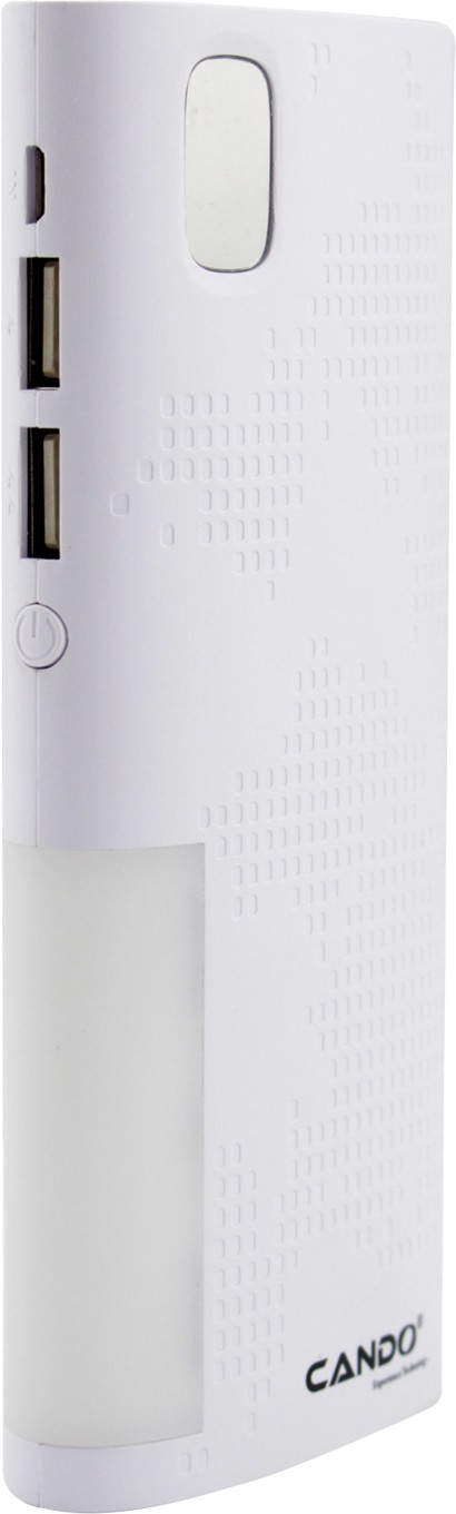 Cando Cando C4 Smart Digital 10400 mAh Power Bank(White, Lithium-ion)