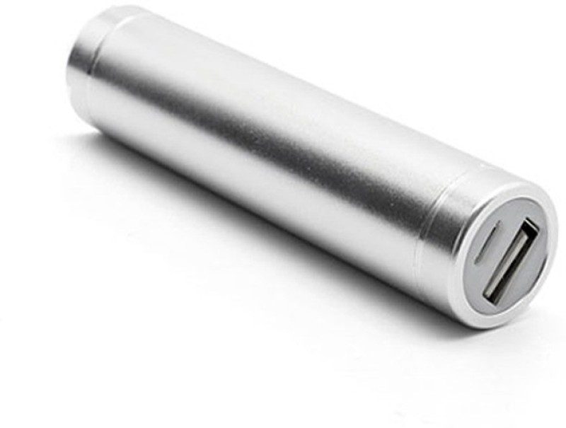Shrih SHR-9197 Universal Portable  2600 mAh Power Bank(Silver, Lithium Polymer)