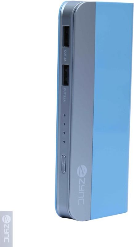 Zync PB999 Elegant 10400 mAh Power Bank(Sky Blue, Lithium-ion)