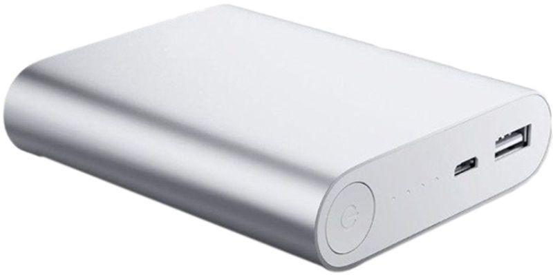 Pinnaclz PB10.4k SIlver Powerbank 10400 MaH 10400 mAh Power Bank(Silver)