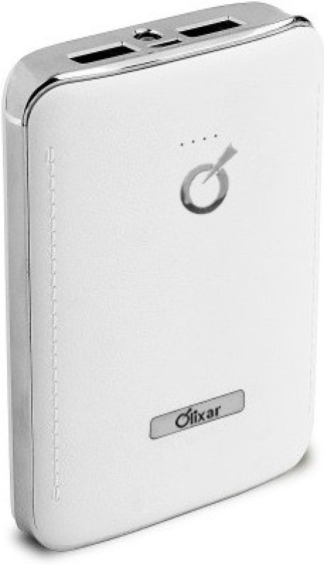 Olixar SS-3  with Dual Output 7800 mAh Power Bank(White, Lithium-ion)