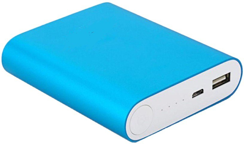 Shopper Hub 104K Ultra Charge portable battery Charger 10400 mAh Power Bank(Blue, Lithium-ion)