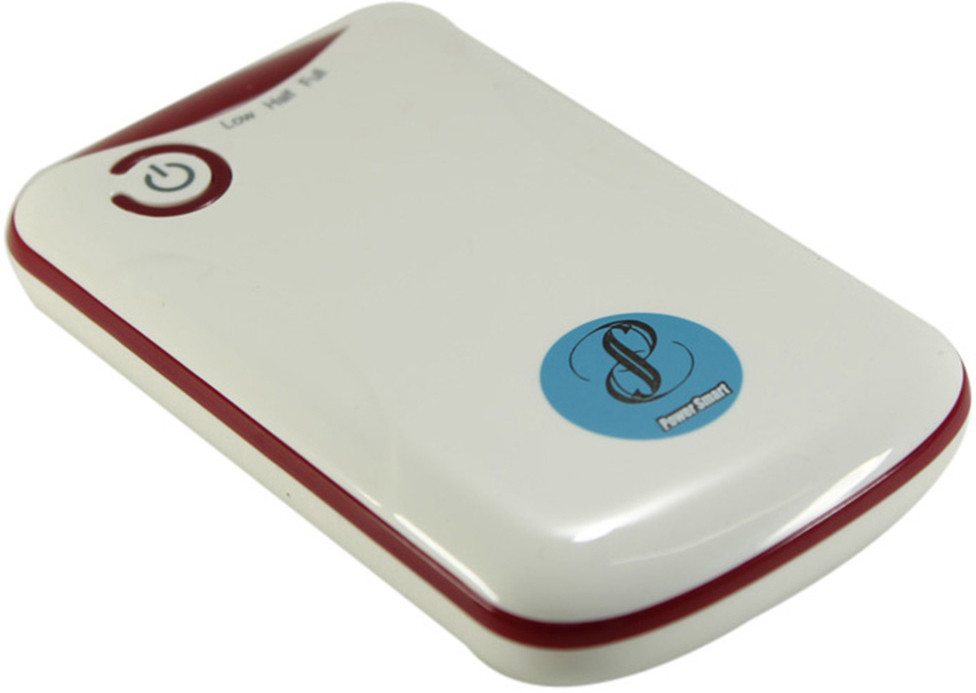 Power Smart 3300mAh Capacity 3300 mAh Power Bank(White, Lithium-ion)