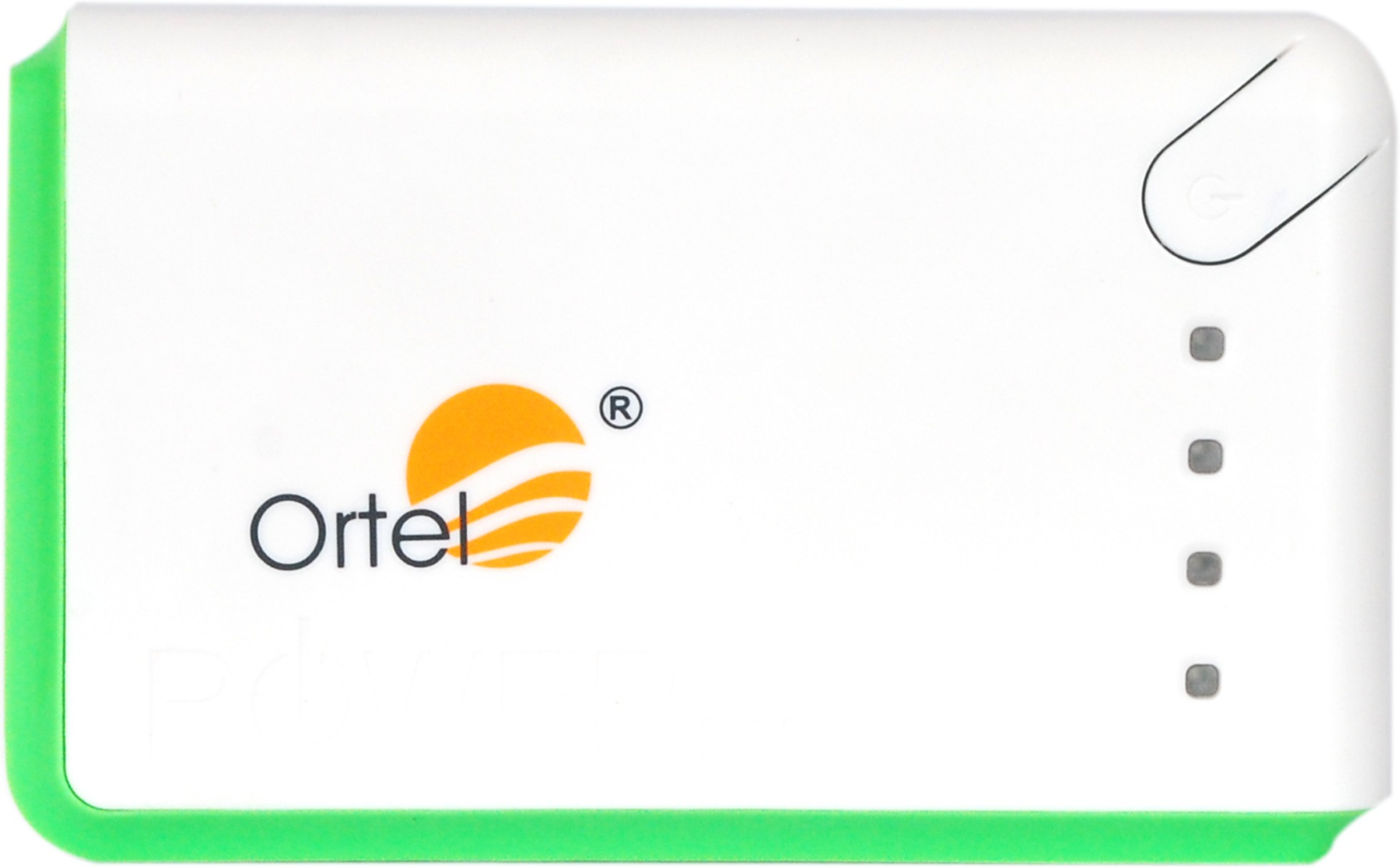 Ortel or0915 POWER BANK 13000 mAh Power Bank(White, Lithium Polymer)