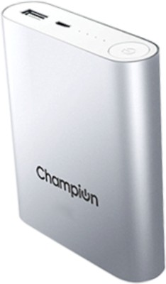 Champion 10400 mAh Power Bank with Samsung cells Mcharge 4C 10400 mAh Power Bank(Silver)