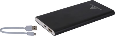 Acromax AM-50 Super Slim Compact 5000 mAh Power Bank(Black, Lithium Polymer)