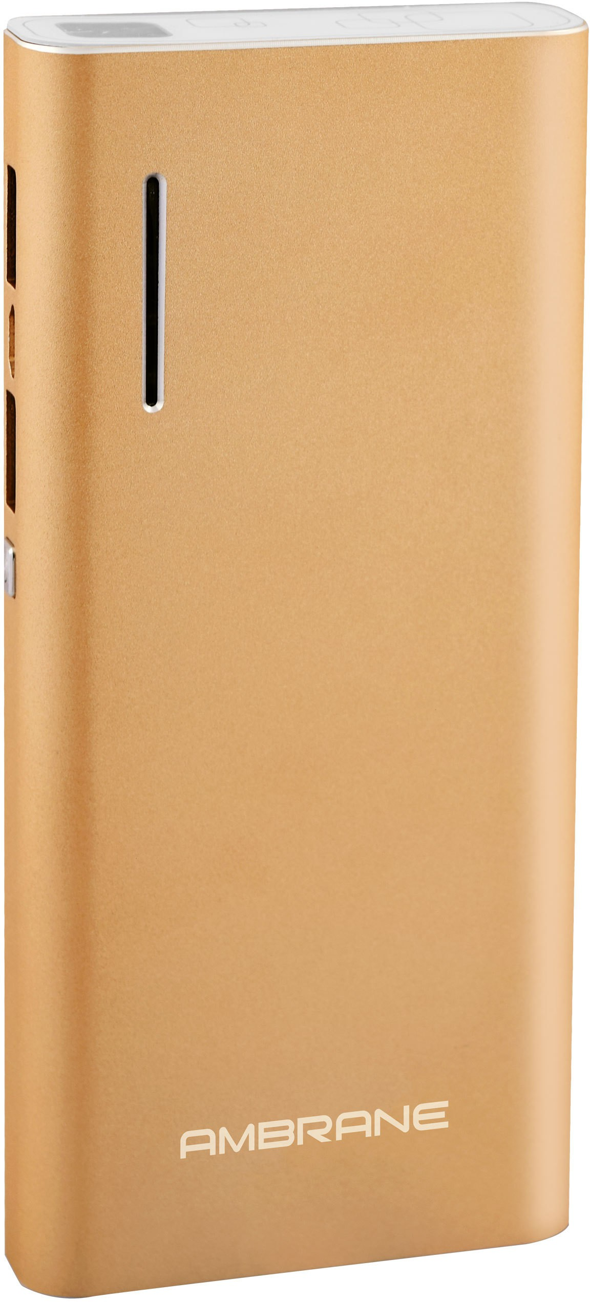 Ambrane P-1313 NA 13000 mAh Power Bank(Gold, Lithium-ion)