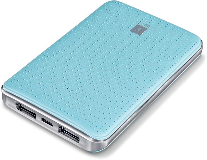 Iball PB-5049-Portable PB-5049 5000 mAh Power Bank(Sea Blue)