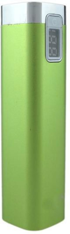 Shrih SHR-9193 Portable Digital Display  2600 mAh Power Bank(Green, Lithium-ion)