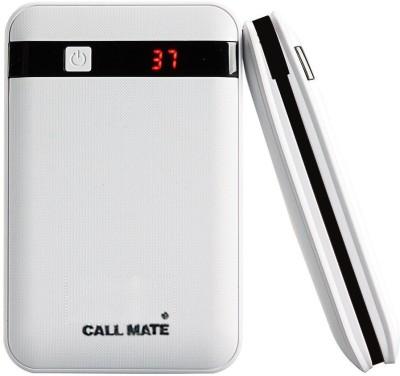 Callmate Black Border 13000 mAh Power Bank(White, Lithium-ion)