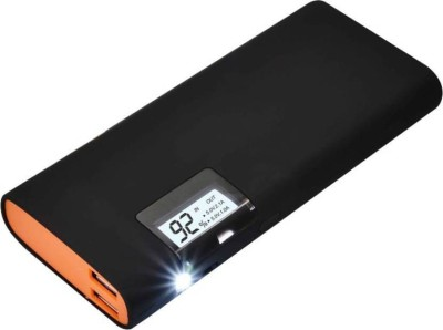 MCSMI FAST SPEED USB PORTABLE POWER SUPPLY POWERBANK 15000 mAh Power Bank(Black)